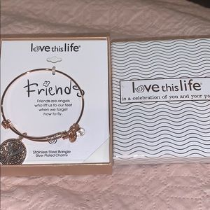 Jewelry - NWT Love This Life Friends Bracelet